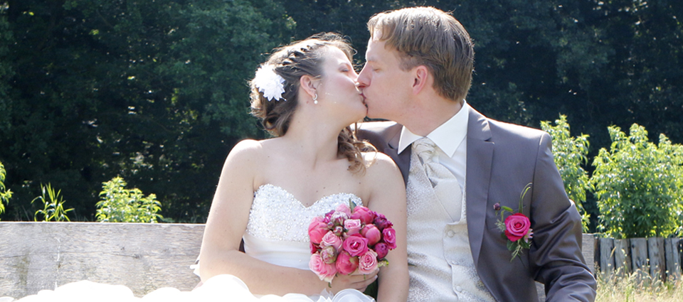 Bruiloft Lennart en Deborah width=